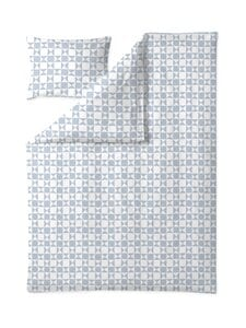 Finlayson - Vohveli-pussilakanasetti 150 x 210 + 50 x 60 cm - WHITE/LIGHT BLUE   Stockmann