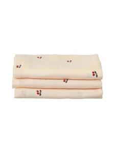 Konges Sløjd - Muslin Cloth -harso 3-pack - CHERRY | Stockmann