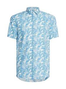 Calvin Klein Menswear - FLOWER STRETCH -paita - CW7 FOUNTAIN BLUE | Stockmann