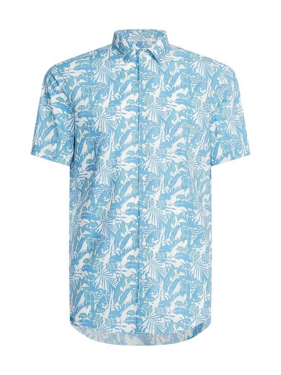 Calvin Klein Menswear - FLOWER STRETCH -paita - CW7 FOUNTAIN BLUE   Stockmann - photo 1