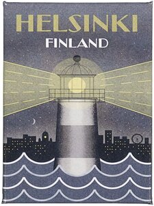 Come to Finland - CTF Valo yössä -magneetti - MULITCOLOURED | Stockmann