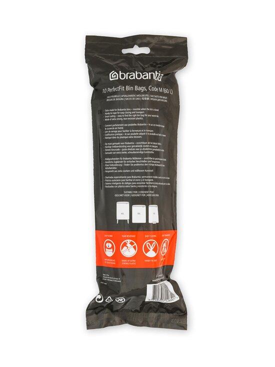 Brabantia - PerfectFit M -roskapussit 60 l, 10 kpl - WHITE | Stockmann - photo 2