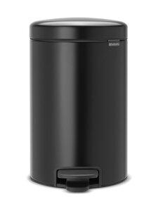 Brabantia - NewIcon-poljinroskakori 12 l - MATT BLACK (MUSTA) | Stockmann