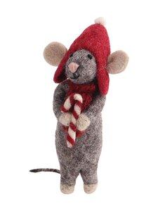 Én Gry & Sif - Hiiri ja karkki -joulukoriste - GREY | Stockmann