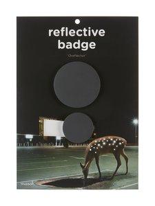 March Design - Oreflector- heijastava rintamerkki 2 kpl - BLACK (MUSTA) | Stockmann