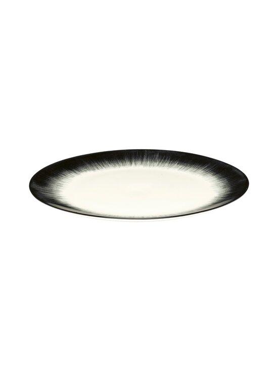 Serax - Dé Tableware by Ann Demeulemeester -lautanen 24 cm - OFF-WHITE/BLACK | Stockmann - photo 1