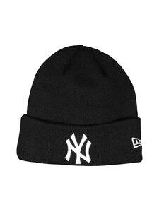 New Era - MLB Essential Cuff Knit New York Yankees -pipo - BLKWHI | Stockmann