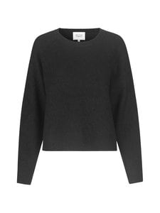 SECOND FEMALE - Brook Knit New Loose O-Neck -neule - 8001 BLACK | Stockmann