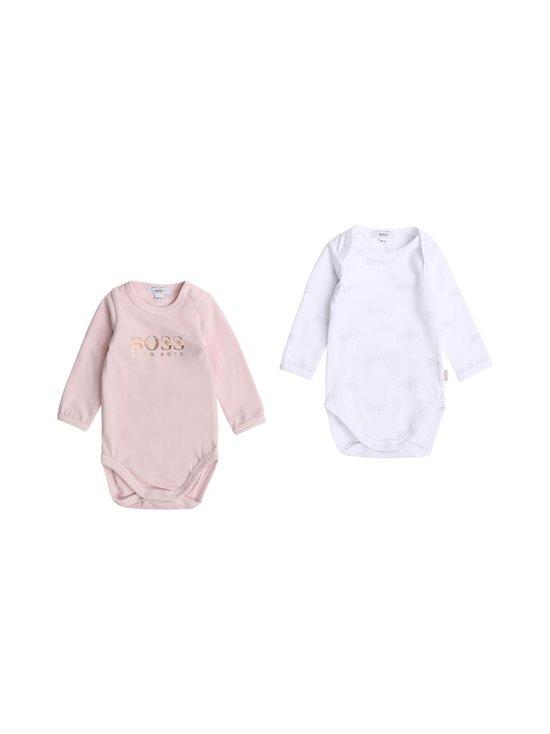 Hugo Boss Kidswear - Body 2-pack - S01 PINK WHITE   Stockmann - photo 1