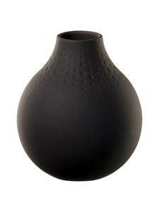 Villeroy & Boch - Manufacture Collier -maljakko 12 cm - BLACK | Stockmann