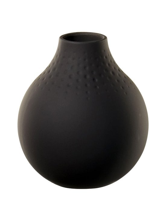 Villeroy & Boch - Manufacture Collier -maljakko 12 cm - BLACK | Stockmann - photo 1