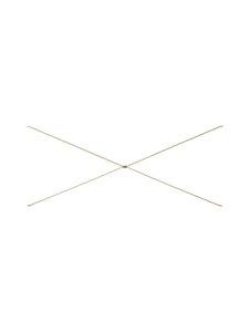 Ferm Living - Punctual Cross -tukiristikko 40 x 93 x 1,6 cm - CASHMERE   Stockmann