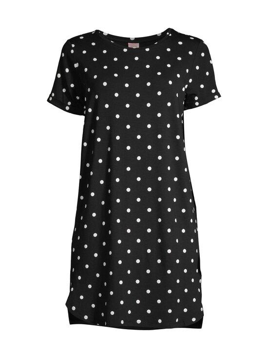 NOOM loungewear - Ilona-yöpaita - BLACK/WHITE COMBO   Stockmann - photo 1