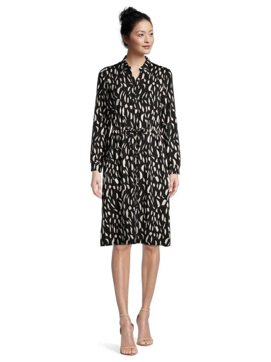 cut & pret - Femme-mekko - BLACK/CREAM PAINT BRUSH PRINT | Stockmann - photo 2