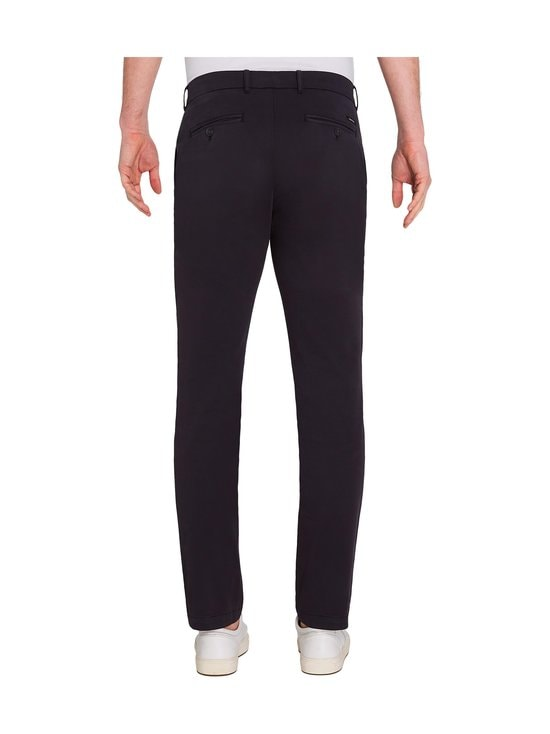 Calvin Klein Menswear - Slim Fit Garment Dye Chino -housut - DW4 CALVIN NAVY | Stockmann - photo 4