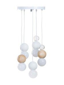 QUU Design - Group LW -riippuvalaisin - WHITE/NATURAL/GLASS | Stockmann