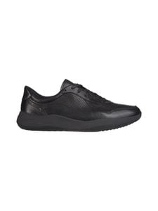 Clarks - Sift Speed -nahkasneakerit - BLACK | Stockmann