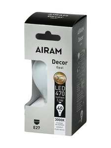 Airam - LED Decor Classic Opal E27 -lamppu - VALKOINEN | Stockmann