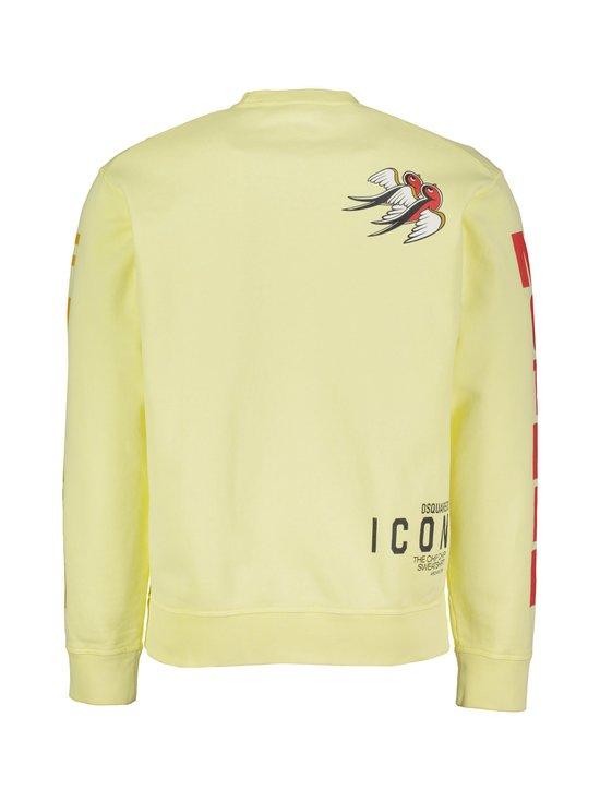 Dsquared - Sweatshirt Icon -collegepaita - 169 LIGHT YELLOW | Stockmann - photo 2