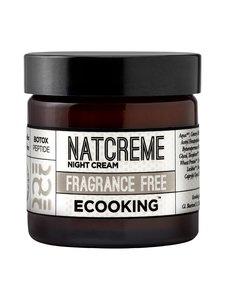 Ecooking - Night Cream Fragrance Free -yövoide 50 ml | Stockmann