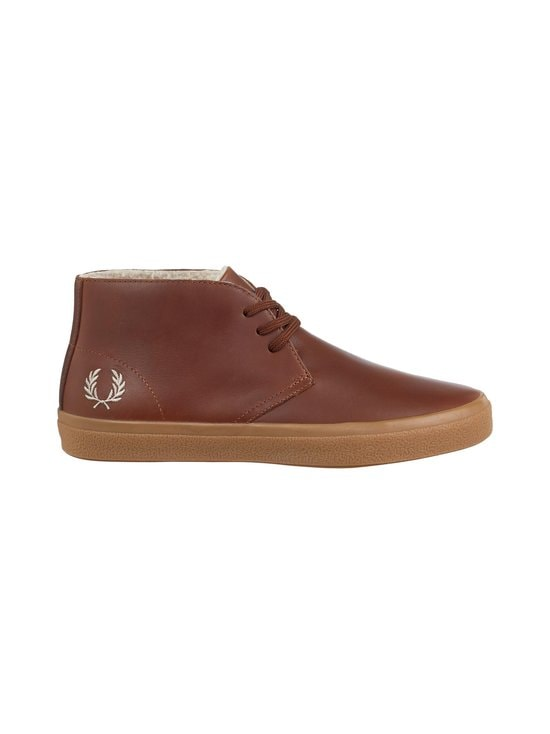 Fred Perry - Portwood-nahkakengät - 898 DARK TAN | Stockmann - photo 1
