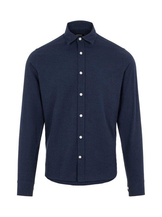 J.Lindeberg - Light Flannel Slim Shirt -flanellipaita - 6855 JL NAVY | Stockmann - photo 1
