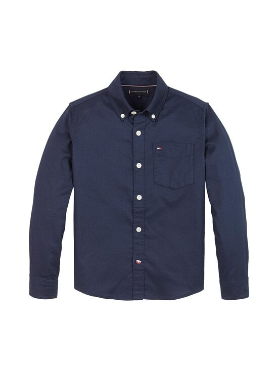 Tommy Hilfiger - Essential Oxford -paita - C87 TWILIGHT NAVY | Stockmann - photo 1