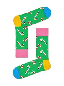 Happy Socks - Candy Cane -sukat - 7300-GREEN | Stockmann