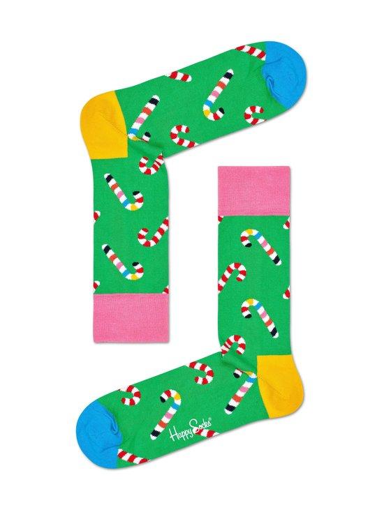 Happy Socks - Candy Cane -sukat - 7300-GREEN | Stockmann - photo 1