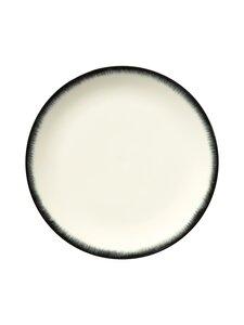 Serax - Dé Tableware by Ann Demeulemeester -lautanen 28 cm - OFF-WHITE/BLACK | Stockmann