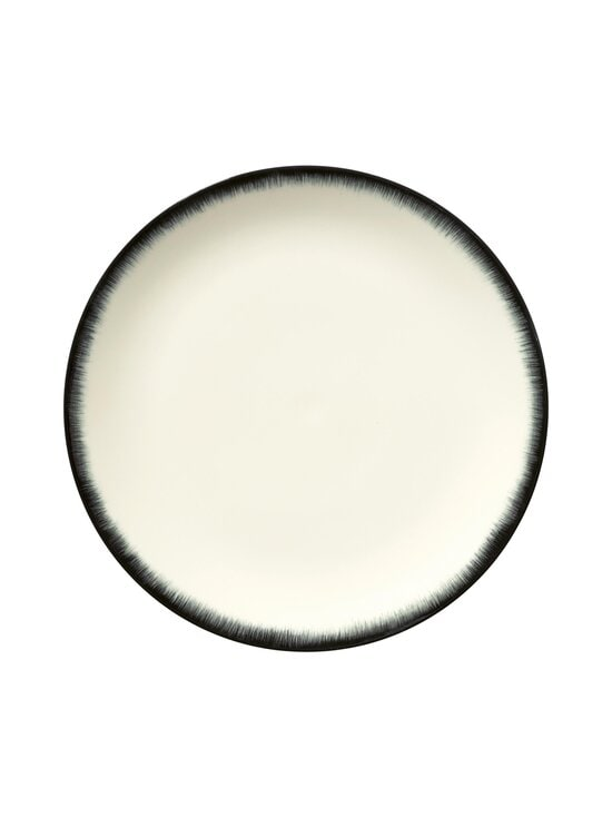 Serax - Dé Tableware by Ann Demeulemeester -lautanen 28 cm - OFF-WHITE/BLACK | Stockmann - photo 1
