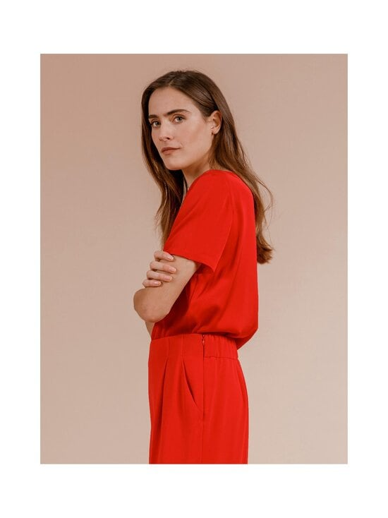 Andiata - Bloomie-silkkipusero - 014 RED | Stockmann - photo 3