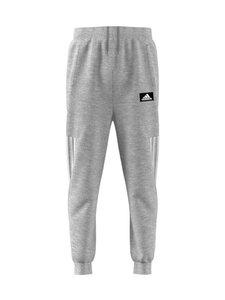 adidas Performance - B Tap Basic Pant -housut - MGREYH/WHITE | Stockmann