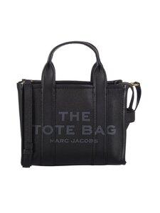 Marc Jacobs - The Leather Mini Traveler Tote -laukku - 001 BLACK | Stockmann