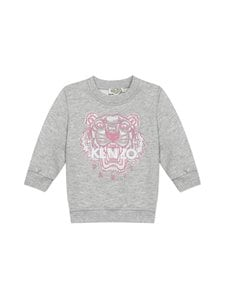 KENZO KIDS - Tiger-collegepaita - 25P MARL GREY | Stockmann