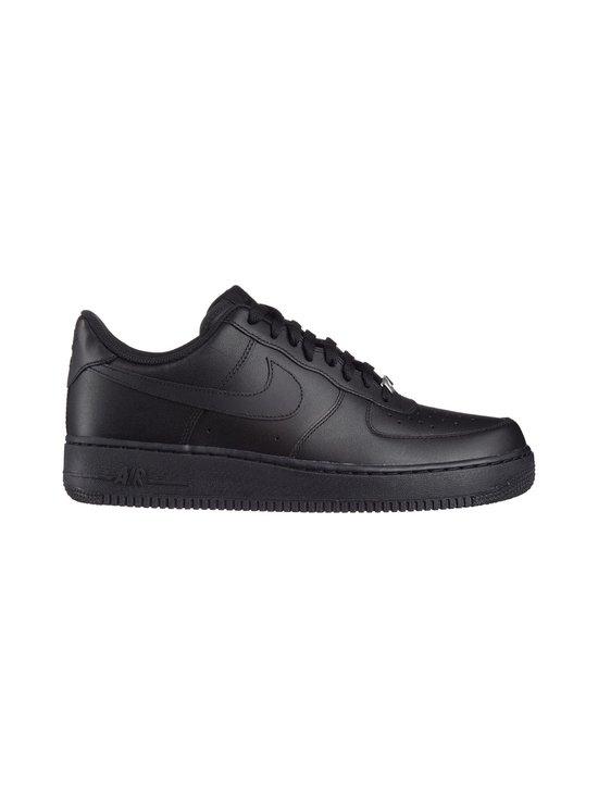 Nike - U Air Force 1 '07 -nahkasneakerit - MUSTA   Stockmann - photo 1