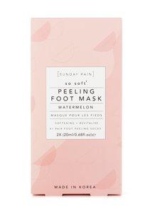 Sunday Rain - Watermelon Peeling Foot Mask -jalkojenhoitosukat - null | Stockmann