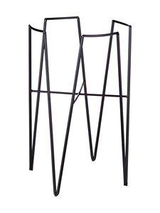 Mica - Blom-kukkateline 25 x 25 x 38 cm - BLACK | Stockmann