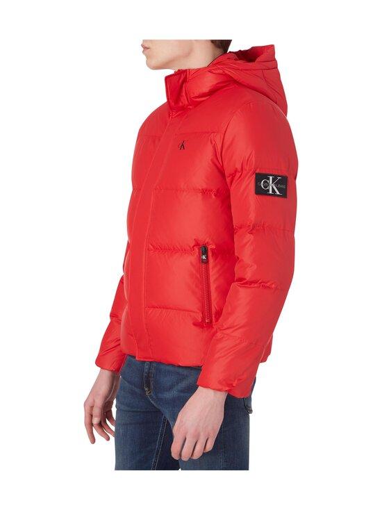 Calvin Klein Jeans - Hooded Down Puffer Jacket -untuvatakki - XME RED HOT | Stockmann - photo 5