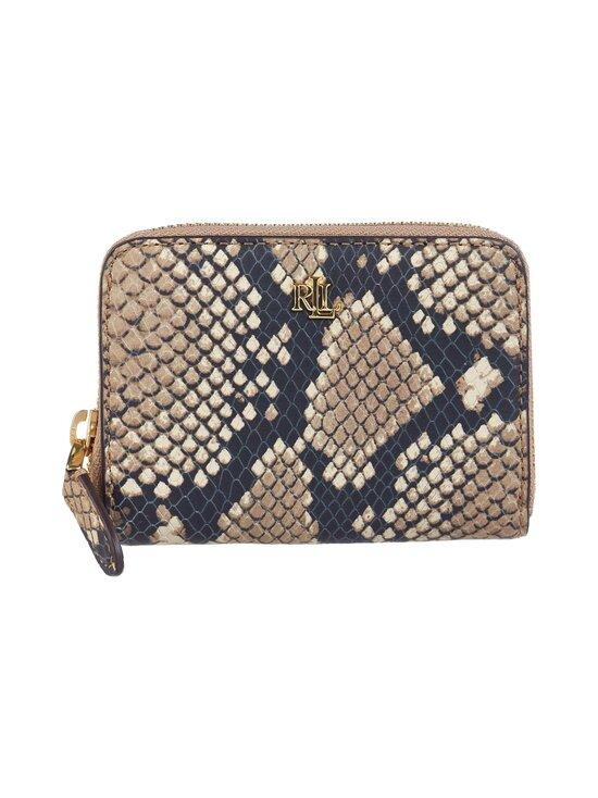 Lauren Ralph Lauren - Small Zip Wallet -nahkalompakko - 2Z71 NATURAL | Stockmann - photo 1
