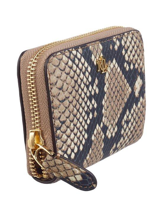 Lauren Ralph Lauren - Small Zip Wallet -nahkalompakko - 2Z71 NATURAL | Stockmann - photo 2
