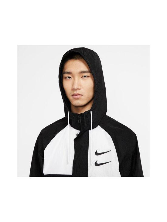 Nike - Swoosh Hooded -takki - 011 BLACK/WHITE/PARTICLE GREY/BLACK | Stockmann - photo 5