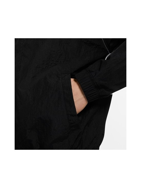 Nike - Swoosh Hooded -takki - 011 BLACK/WHITE/PARTICLE GREY/BLACK | Stockmann - photo 6
