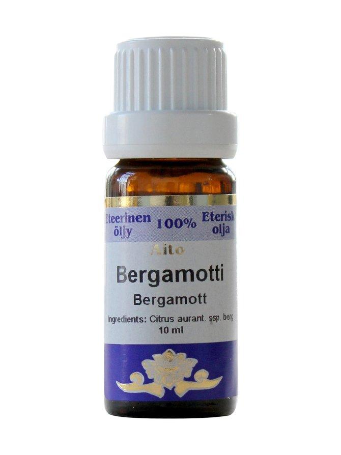 Bergamottiöljy 10 ml