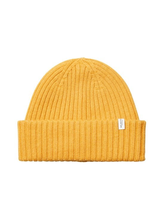 Selected - SlhMerino Cardigan Beanie -villapipo - GOLDEN GLOW DETAIL:MELANGE | Stockmann - photo 1