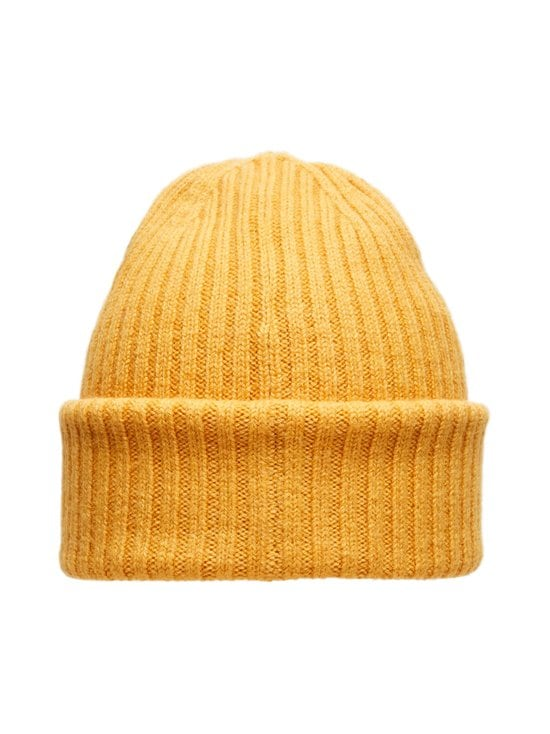 Selected - SlhMerino Cardigan Beanie -villapipo - GOLDEN GLOW DETAIL:MELANGE | Stockmann - photo 2
