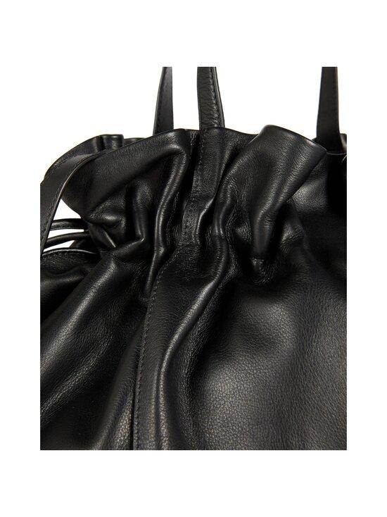 Ted Baker London - MIEMI Slouchy Drawstring Shopper -nahkalaukku - BLACK | Stockmann - photo 3