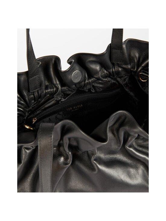 Ted Baker London - MIEMI Slouchy Drawstring Shopper -nahkalaukku - BLACK | Stockmann - photo 4
