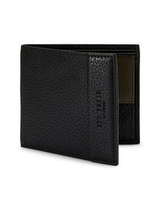 Ted Baker London - Carabas Leather Bifold -nahkalompakko - 00 BLACK | Stockmann