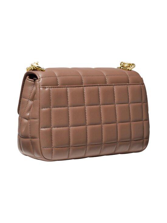 Michael Michael Kors - Soho Large Quilted Leather Shoulder Bag -nahkalaukku - 244 DARK FAWN   Stockmann - photo 2